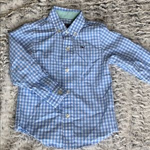Boys Vintage Vines Button-Down Shirt